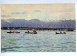 237274 Kazakhstan Issyk-Kul Lake Old Postcard - Kazakhstan