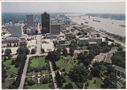 Louisiana Baton Rouge Aerial View From Capitol Building - Baton Rouge