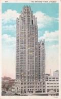 Illinois Chicago The Tribune Tower 1931 Curteich - Chicago