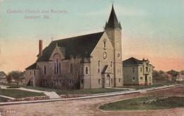 Maine Sanford Catholic Church and Rectory 1911