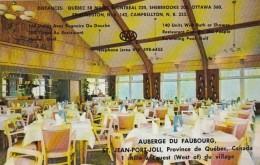 Canada Quebec St Jean-Port-Joli Restaurant Auberge Du Faubourg