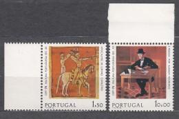 Portugal 1975 Europa Paintings Mi#1281-1282 Mint Never Hinged - Unused Stamps