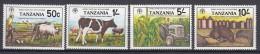 Tanzania 1982 Mi#209-212 Mint Never Hinged - Tanzanie (1964-...)