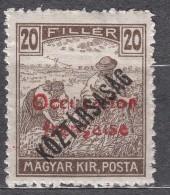 France Occupation Hungary Arad 1919 Yvert#32 Mi#36 Mint Hinged - Neufs