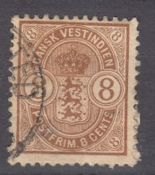 Denmark Danish Antilles (West India) 1903 Mi#28 Yvert#19 Used - Dinamarca (Antillas)