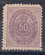 Denmark Danish Antilles (West India) 1876 Mi#13 Yvert#13 Mint Hinged - Dänemark (Antillen)