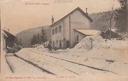88 - GERARDMER - La Gare En Hiver - Gerardmer