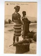 247408 Bas Congo Bangu Black Pottery Merchant Vintage Postcard - Congo - Brazzaville