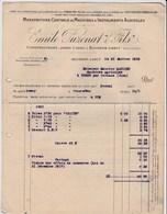 Lot 9 Factures De Bourbon-Lancy (71) Pour Thésy (39) - 1919 - Ets Emile Puzenat & Fils Machines Agricoles - France