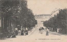 88 - CONTREXEVILLE - Avenue De La Gare - Vittel Contrexeville