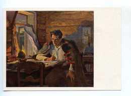 251744 USSR Kirillov Nikolai Ostrovsky Writer Postcard - Writers