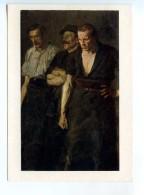251755 POLAND Stanislav Lenz Workers' Strike Old Postcard - Other Illustrators