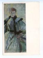 251758 POLAND Leon Vychulkovsky Vanda Old Postcard - Other Illustrators