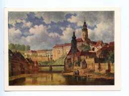 251766 Czechoslovakia Bedrich Gavranek Cesky Krumlov - Other Illustrators
