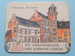 STELLA ARTOIS 1975 Monumentenjaar - L'Année Du Patrimoine Historique TONGEREN ( Sous Bock / Coaster / Onderlegger ) ! - Sous-bocks