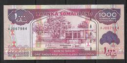 SOMALIE 2011 BILLET DE 1000 SHILLINGS UNC - Somalie