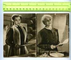 255996 USSR 1949 Year MOVIE FILM Country Teacher BROCHURE - Books, Magazines, Comics