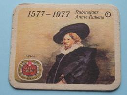 1577 - 1977 RUBENSJAAR / Année RUBENS ( WIEN ) 1 ( Sous Bock / Coaster / Onderlegger ) ! - Sous-bocks