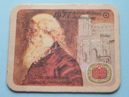 1577 - 1977 RUBENSJAAR / Année RUBENS ( ROMA ) 4 ( Sous Bock / Coaster / Onderlegger ) ! - Sous-bocks