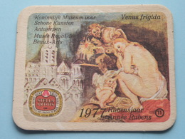 1577 - 1977 RUBENSJAAR / Année RUBENS ( Museum ANTWERPEN Venus FRIGIDA ) 11 ( Sous Bock / Coaster / Onderlegger ) ! - Sous-bocks