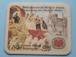 1577 - 1977 RUBENSJAAR / Année RUBENS ( PARIS ) 12 ( Sous Bock / Coaster / Onderlegger ) ! - Sous-bocks