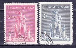 Tchécoslovaquie 1945 Mi 478-9 (Yv 425-6), Obliteré - Used Stamps
