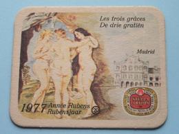 1577 - 1977 RUBENSJAAR / Année RUBENS ( MADRID ) 20 ( Sous Bock / Coaster / Onderlegger ) ! - Sous-bocks