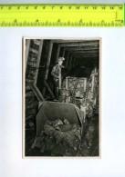 256152 USSR KEMEROVO Coal Mine Rockloading Machine Photo Card - Russie