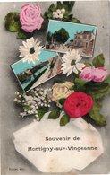 CP Souvenir De MONTIGNY SUR VINGEANNE - France