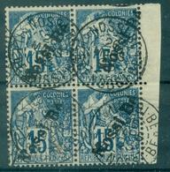 NOSSI BE N° 24 Bloc De 4 B De F Oblitéré 26 Mars 03 Tb Centré Tirage 3600 Ex, Cote ++ 160 €.rare Et TB - Used Stamps
