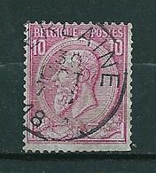 46 Gestempeld VERLAINE - COBA 8 Euro - 1884-1891 Leopold II.