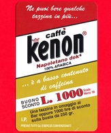 Nuova - MNH - ITALIA - Scheda Telefonica - Telecom - Caffè Kenon - OCR 19 - C&C 2433  - Golden 905 - Italië