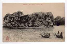 - CPA TONKIN (Viêt Nam) - Baie D'Along 1917 - Le Vieux Mur - Collection DIEULEFILS - - Vietnam