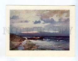256644 USSR LATVIA Sea Kreics Autumn Winds Old Postcard - Other Illustrators