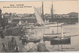 18 / 5 / 411  -  CANNES  ( 06 )  -VUE  SUR  LE  QUAI  ST.  PIERRE - Cannes