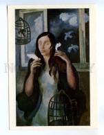 256648 USSR LATVIA Lutere Outside Window Spring 1976 Year PC - Other Illustrators