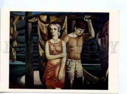 256653 USSR LATVIA Muzis On A Long Flight 1976 Year Postcard - Other Illustrators