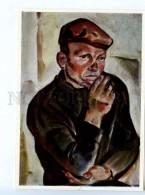 256664 USSR Karelia Kozhaev Port Loader 1971 Year Postcard - Other Illustrators