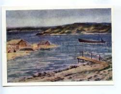 256669 USSR Karelia Denisov Near Belomorsk 1971 Year Postcard - Other Illustrators