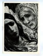 256704 USSR Glazunov Goncharov Breakage 1976 Year Postcard - Other Illustrators