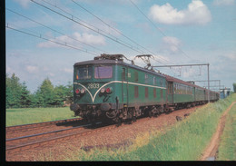 NMBS - SNCB -- Locomotive Electrique BB Serie 28 - Trains