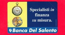 Nuova - MNH - ITALIA - Scheda Telefonica - Telecom - Golden 911 - Banca Del Salento - OCR 21 - 2953 - Italy