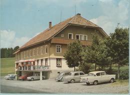 CPM: HINTERZARTEN  (allemagne):  Hôtel-Pension LAFETTE.    (E 443) - Hotels & Restaurants