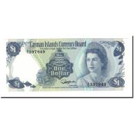Billet, Îles Caïmans, 1 Dollar, L.1974, 1985, KM:5b, NEUF - Iles Cayman