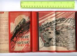 254763 USSR Tiflis Batum 1931 Year AVANT-GARDE Booklet - Books, Magazines, Comics