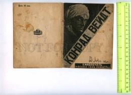 254764 Conrad Veidt German Actor AVANT-GARDE BROCHURE Russian - Books, Magazines, Comics