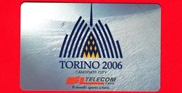 Nuova - MNH - ITALIA - Scheda Telefonica - Telecom - Torino 2006 - OCR 17 - C&C 3075  - Golden 959 - Italië