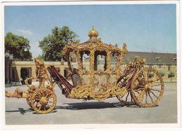 Wien: IMPERIALWAGEN / The Imperial-Coach / Carrosse Impérial - Museum Wagenburg, Schönbrunn - Busse & Reisebusse