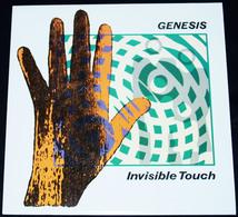 GENESIS – Invisible Touch – LP – 1986 – VIRGIN 123851 – VIRGIN RECORD LTD – Diffusion Exclusive VIRGIN FRANCE S.A. - Rock