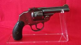Revolver Iver & Johnson Cal 32 SW Poudre Noire - Decorative Weapons